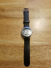 Swatch Irony AG2005 Swiss Made Rubber Band Has New Battery