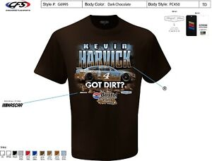 Kevin Harvick #4 Busch Light Bristol Get Dirt Shirt 2021 New Free Ship Instock