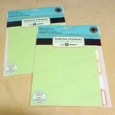2 Packs Martha Stewart Home Office Avery Paper Dividers 5 Tab 8 12 X 11 85