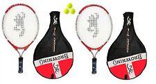 2 x Browning Energy Ti 19 Junior Rackets+3 Tennis Balls RRP £60