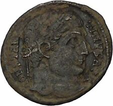 CONSTANTINE I the GREAT 324AD Ancient Roman Coin Military Camp gate  i45897