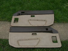 PORSCHE 924 944 FRONT DOOR CARDS TRIM PANELS SPARE PARTS BREAKING