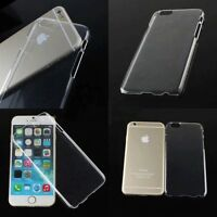 New Glossy Crystal Clear Transparent Plastic Hard Case Cover Skin For Cell Phone