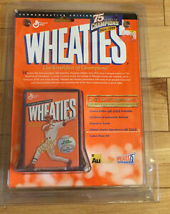 Wheaties 24K Gold Signature Series -75 Years of Champions- Mark McGuire BNIP