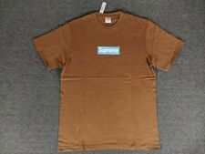 SUPREME T- Shirt Unisex L Coffee RARA