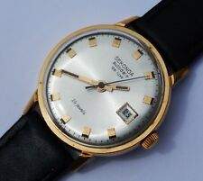 Russian Vintage Gents Gold Pl Sekonda Poljot 29J Automatic Watch; USSR c1970