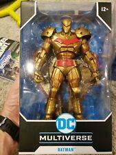 DC Multiverse Batman Hellbat Gold Edition Mcfarlane Action Figure IN HAND