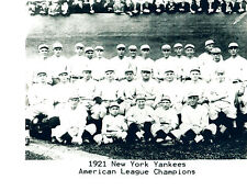1921 AMERICAN LEAGUE CHAMPIONS NEW YORK YANKEES 8X10 TEAM PHOTO RUTH BASEBALL