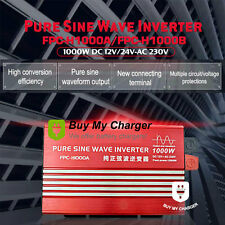 High Frequency DC12V AC 220V Inverter 1KW 1000W Pure Sine Wave Power Inverter