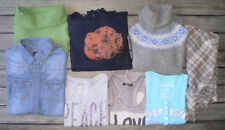 LOT Vêtement Femme Pull T-S Chemise * KOOKAI - AEROPOSTALE - H&M * Taille 34 !!