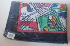 Nwt Vera Bradley Cuban Stamps beach towel 33 x 66 cotton