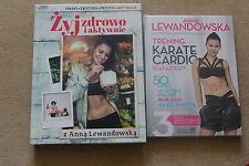 ANNA LEWANDOWSKA Trening Cardio  DVD + Książka Żyj Zdrowo i aktywnie POLISH