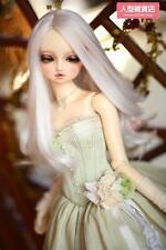 BJD Doll Hair Wig 9-10 inch 22-24cm White 1/3 SD DZ DOD LUTS Perma-long