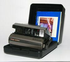 Polaroid Image System Sofortbildkamera mit Anleitung und Box  Mit Film getestet