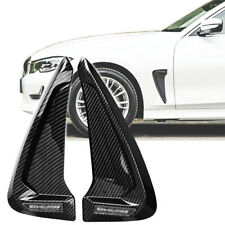 Shark Side Fender Cover Black Carbon Dipping Print Decoration Euro Vehicle