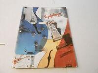 VINTAGE MUSICAL INSTRUMENT CATALOG #10084 - 2002  EPIPHONE GUITARS