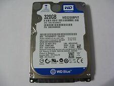 WD Scorpio Blue 320GB SATA WD3200BPVT-26JJ5T0 SHMTJHN EJ07JCW5N 771692 (H64-04)