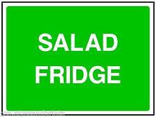140X90MM salade FRIGO - autocollant vinyle imprimé