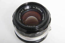 Nikon Nikkor S.C 50mm f1.4 Lens AI Mount