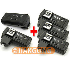 DSLRKIT RF-16NE 2.4Ghz Wireless Flash Trigger for NIKON w/ 4 Receivers