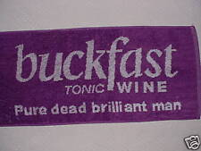BUCKFAST TONIC WINE Bar Towel - New and ULTRA RARE