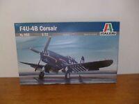 👿 Maquette F4U-4B Corsair Italeri N°062 Model Kit 1:72 échelle Neuf