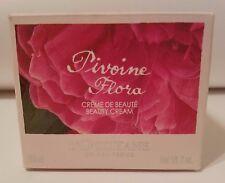 L'Occitane PIVOINE FLORA Peony Perfume BEAUTY Cream Body Creme 7oz w/box