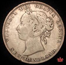 1900 Newfoundland 50 Cents - F -Lot#842