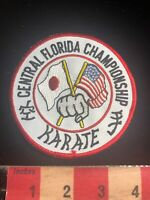 CENTRAL FLORIDA CHAMPIONSHIP KARATE Martial Arts Patch 01RN