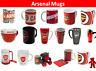 Arsenal FC FC Mug - Travel, Latte, Tea Tub, Tea, Coffee, Tankard, Heat Change