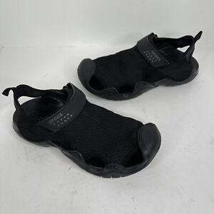 Mens Crocs Swiftwater Sandals Casual Mesh Comfort Fisherman 15041 Size 10 Black