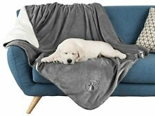 Waterproof Pet Blanket Collection– Reversible Throw Protects Couch, Car, Large