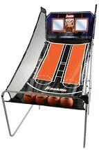 Indoor Basketball Arcade Game Machine Electronic Scorer Dual Hoop Franklin