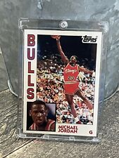 Michael Jordan ROOKIE CARD - TOPPS ARCHIVES RC - AUTHENTIC / ORIGINAL -BULLS #23