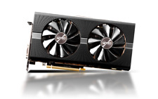 SAPPHIRE NITRO+ RADEON RX 570 4GB GDDR5 Dual UEFI Graphics Video Card Excellent