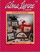 Goose Gallery Cross Stitch | Alma Lynne ALX-49 Geese Friends