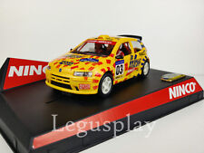 "SCX Scalextric Slot Ninco 50315 Fiat Punto ""Catalunya-Costa Brava 2003 Ltd. Ed."""