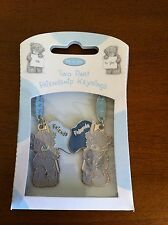 Me To You Tatty Teddy Bear Friendship Keyrings/Friend Gift Blue Flags - Keyring