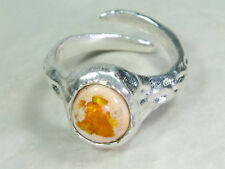 Cantera Feuer Opal Ring, Nr.8, 925 Silber, Video