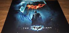 Christian Bale Batman The Dark Knight Actor Signed 11x14 Photo COA Proof 12