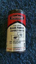 DK250 Gardner 6in. X 50 ft Black Asphalt Glass Fabric
