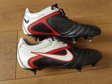 NIKE CTR360 Maestri PRO SG Football Ruby Soccer Boots Leather UK 8.5 Red Rare