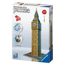 PUZZLE 3D LONDON BIG BEN OROLOGIO 216 PEZZI RAVENSBURGER 12554 BUILDING