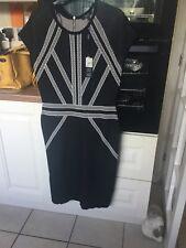 star by julien macdonald size 16 black dress