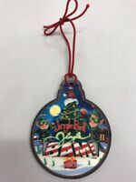 Disney Hollywood Studios 2017 Jingle Bell Jingle Bam Ornament NEW With Tags