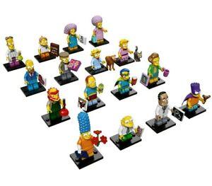 THE SIMPSONS Serie 2 Figura Singola MINI LEGO Figures 71009 Single Figure Choose