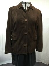 GORGEOUS SUEDE LEATHER JACKET by GIORGIO 1966 ITALY  size 48
