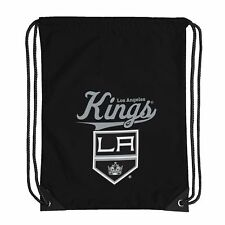 "Hockey Licensed Los Angeles LA Kings Backsack Team Spirit 17.5"" x 13"" Gym bag"