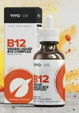 VIVO B12 COMPLEX - High Potency Vegan Vitamin B12 blend | 60ML - 60 SERVINGS