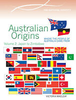 AUSTRALIAN ORIGINS VOLUME 2: JAPAN TO ZIMBABWE - BOOK  9780864271273